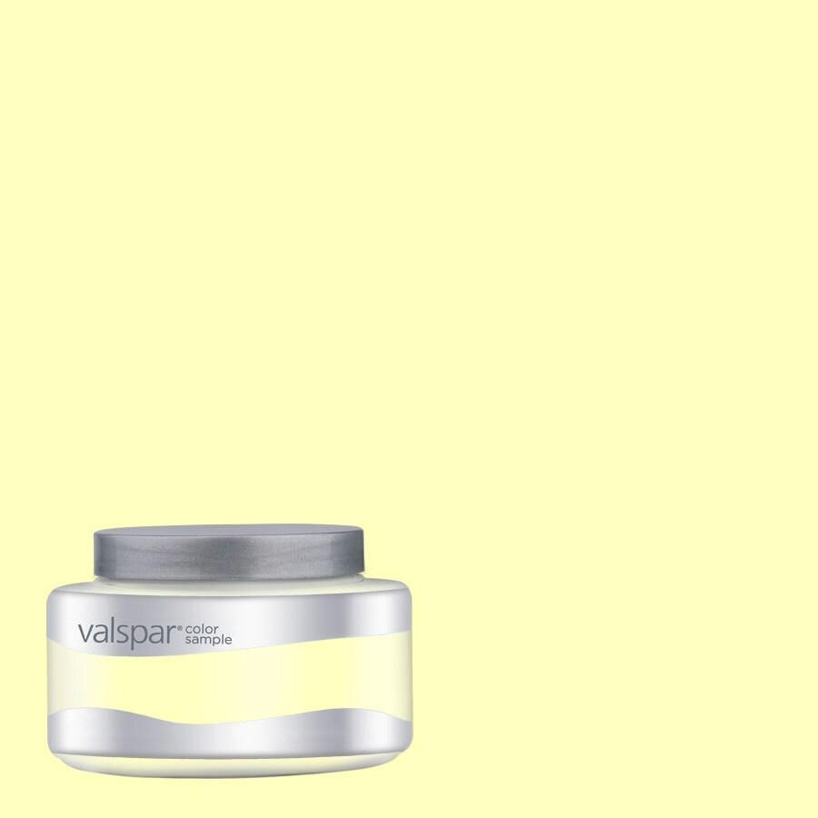 Creative Ideas for Color by Valspar 8-oz Soft Sunlight Interior Satin Paint Sample