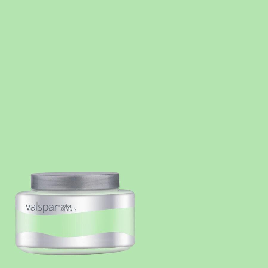 Creative Ideas for Color by Valspar 8-oz Retro Green Interior Satin Paint Sample