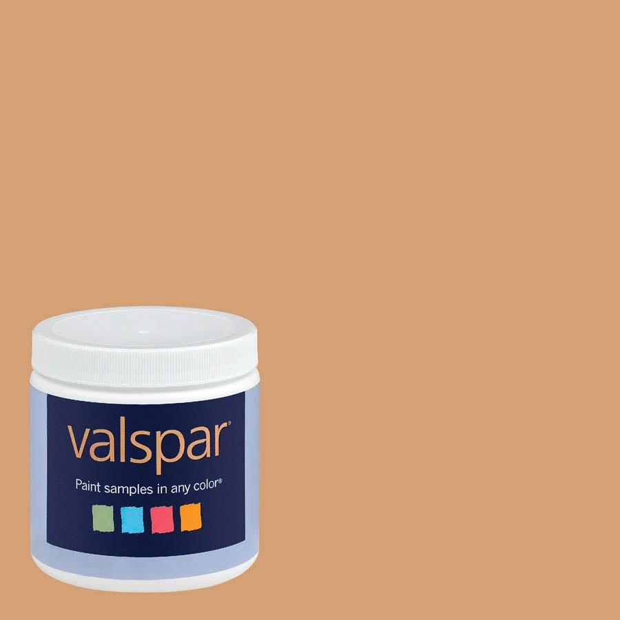 Eddie Bauer Colors by Valspar 8-oz Bungalow Gold Interior Satin Paint Sample