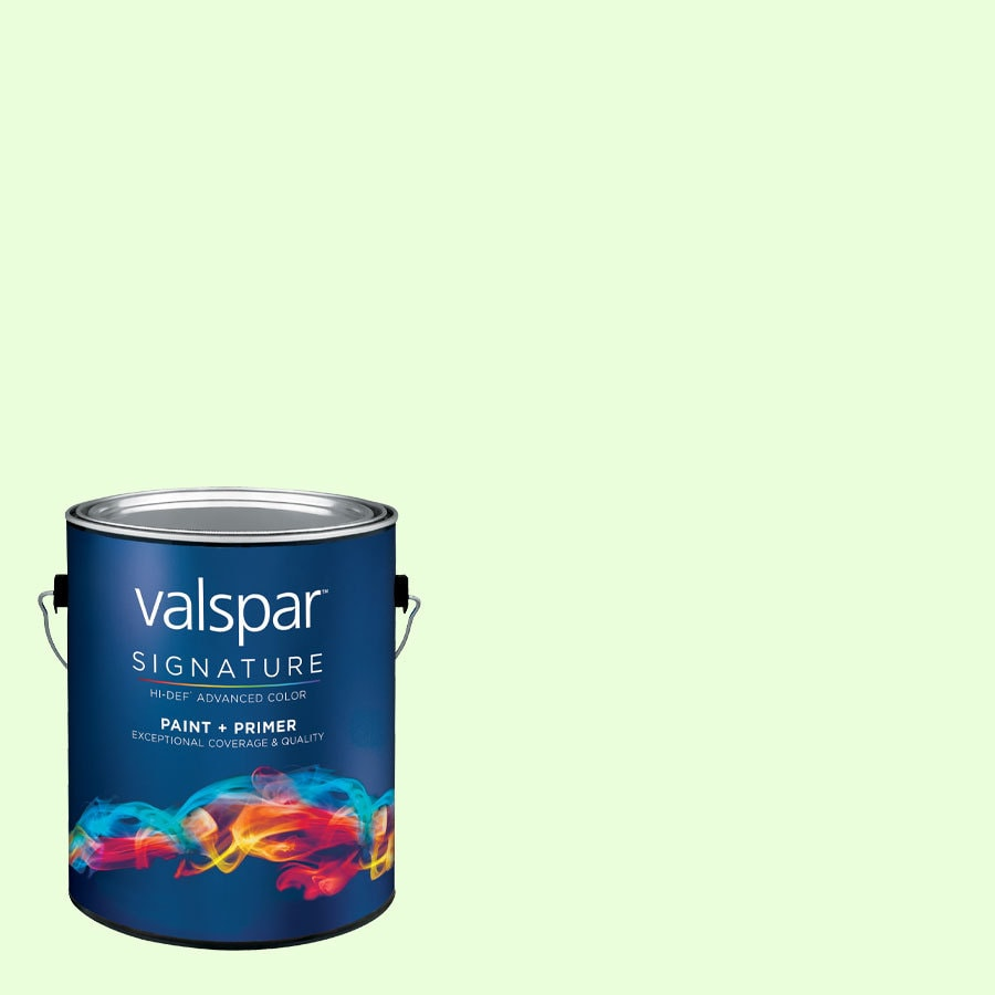 Creative Ideas for Color by Valspar Gallon Size Container Interior Eggshell Pre-Tinted Botanical Bath Latex-Base Paint and Primer in One (Actual Net Contents: 128.62-fl oz)