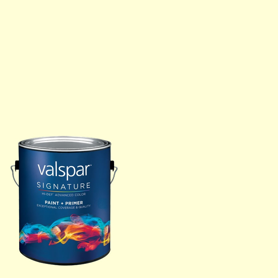 Creative Ideas for Color by Valspar Gallon Size Container Interior Semi-Gloss Pre-Tinted Pillow Talk Latex-Base Paint and Primer in One (Actual Net Contents: 128.61-fl oz)