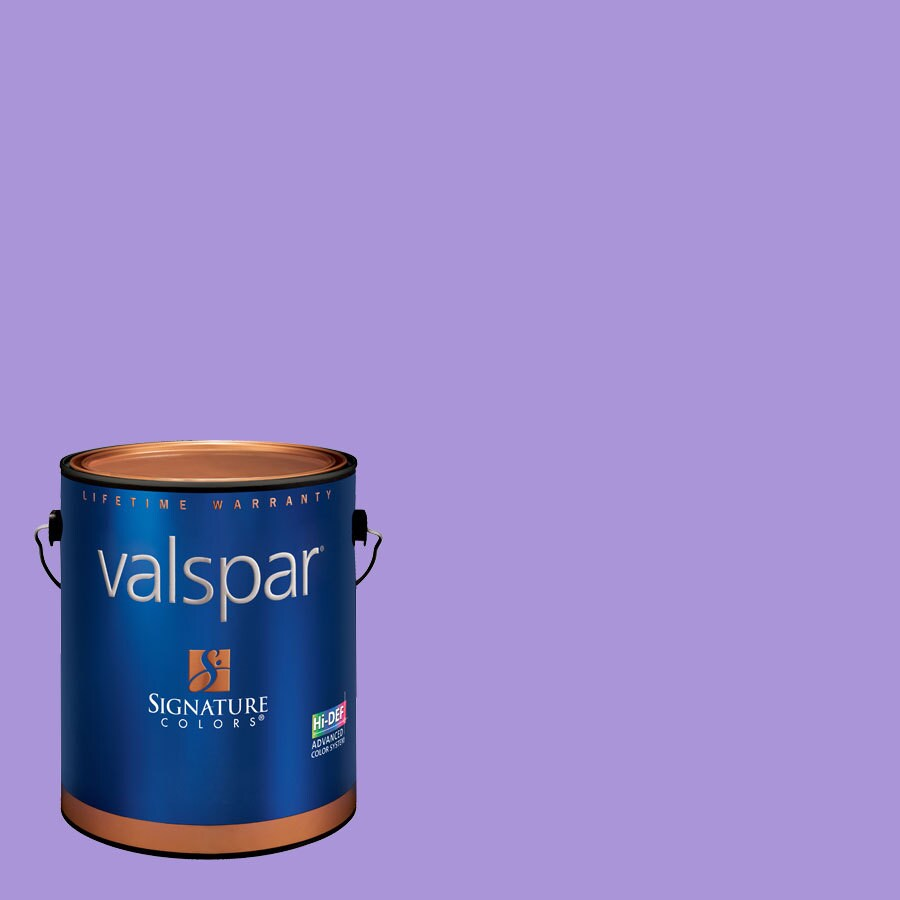 Creative Ideas for Color by Valspar Gallon Size Container Interior Semi-Gloss Pre-Tinted Rocker Girl Latex-Base Paint and Primer in One (Actual Net Contents: 127.46-fl oz)