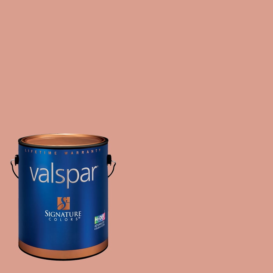 Creative Ideas for Color by Valspar 1-Gallon Interior Eggshell Autumn Rose Latex-Base Paint and Primer in One