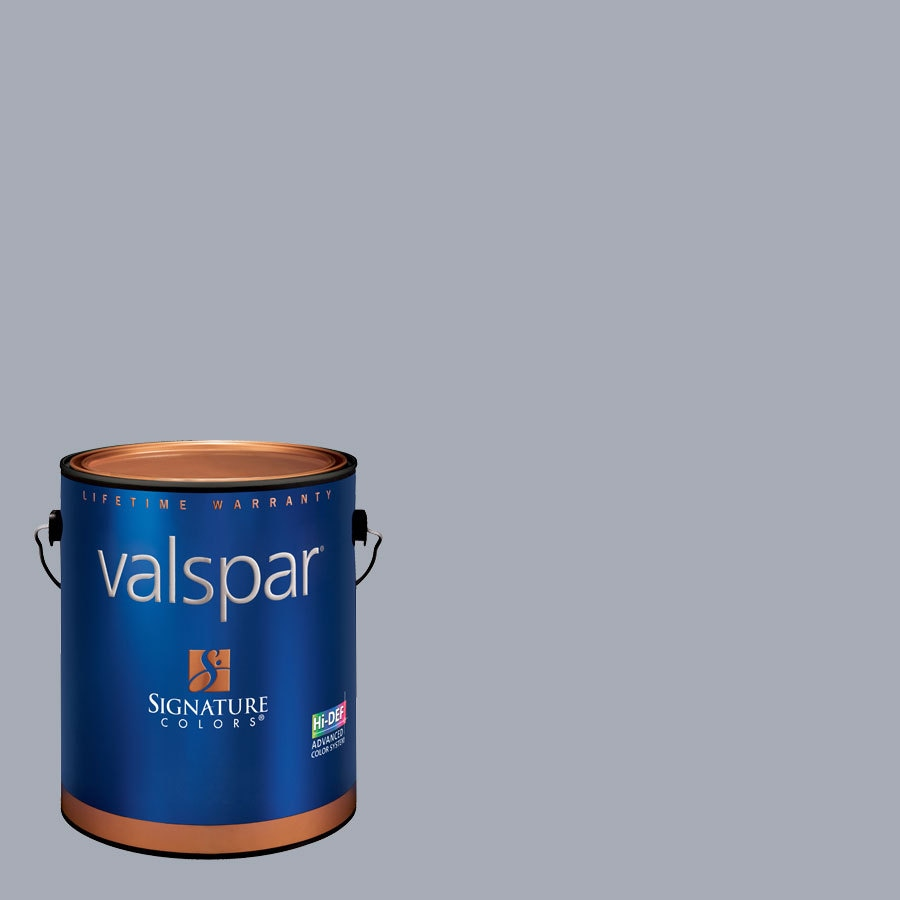 Creative Ideas for Color by Valspar 1-Gallon Interior Eggshell Evening Twilight Latex-Base Paint and Primer in One