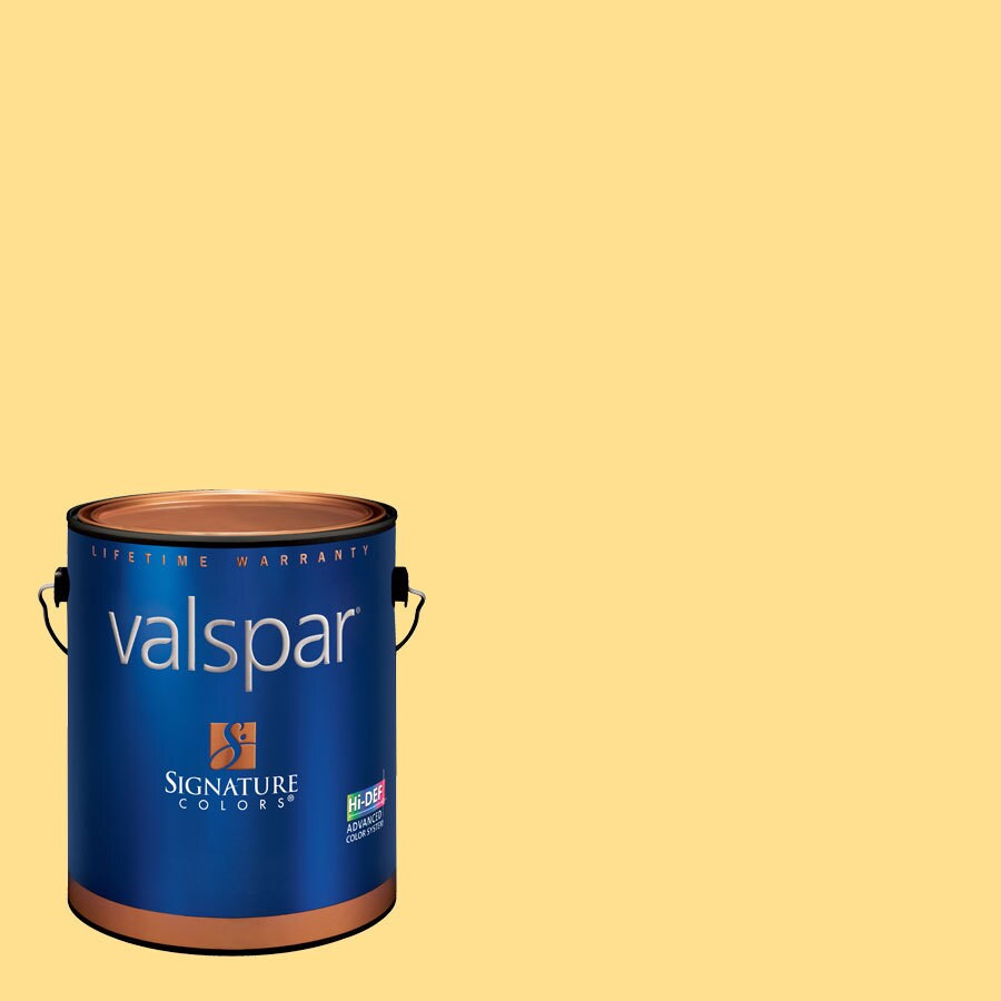Creative Ideas for Color by Valspar 1-Gallon Interior Eggshell Peach Smoothie Latex-Base Paint and Primer in One