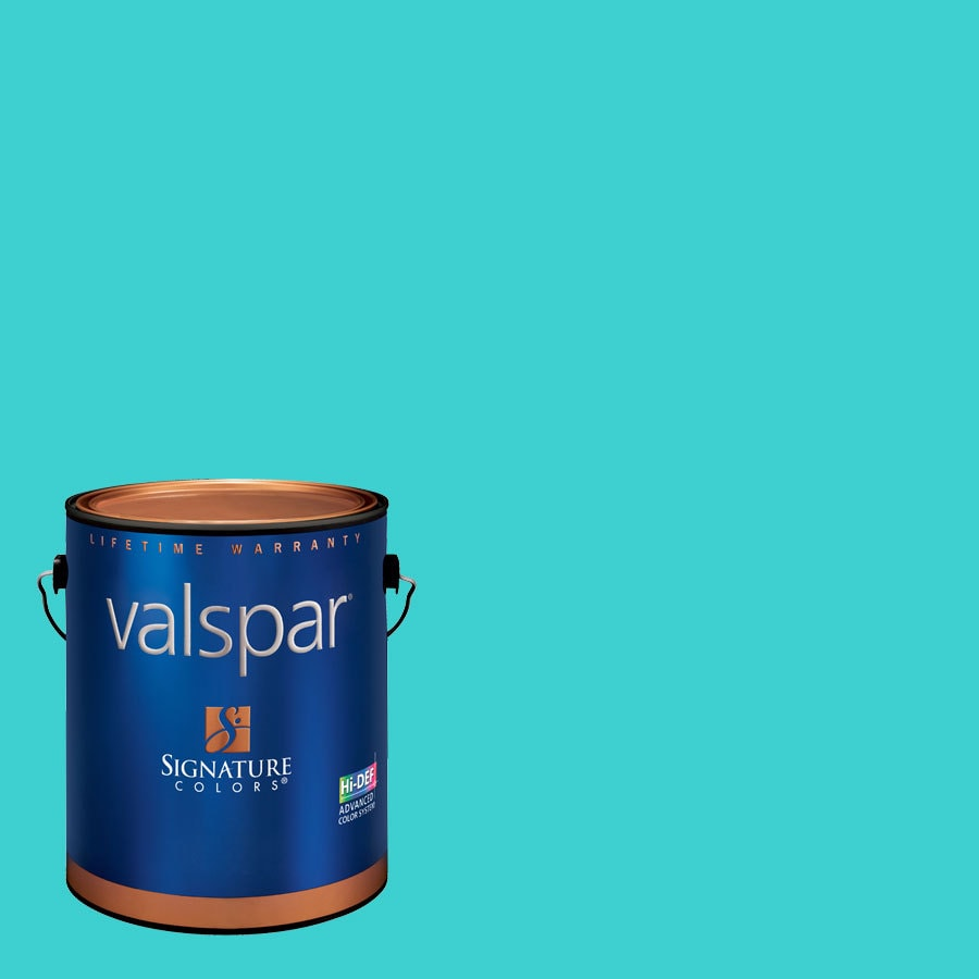 Creative Ideas for Color by Valspar 1-Gallon Interior Eggshell Reflection Pool Latex-Base Paint and Primer in One