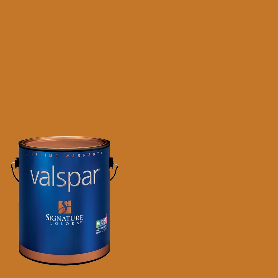 Creative Ideas for Color by Valspar Gallon Size Container Interior Eggshell Pre-Tinted Toasty Fireplace Latex-Base Paint and Primer in One (Actual Net Contents: 128.04-fl oz)