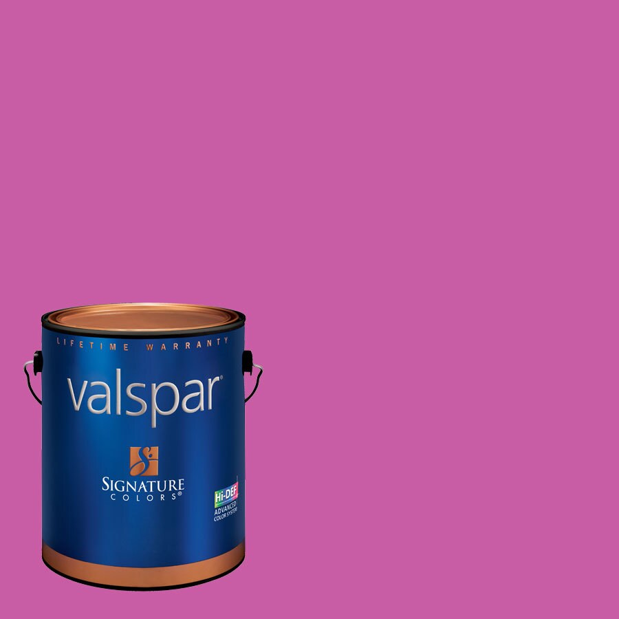 Creative Ideas for Color by Valspar Gallon Size Container Interior Eggshell Pre-Tinted Raspberry Tart Latex-Base Paint and Primer in One (Actual Net Contents: 127.66-fl oz)