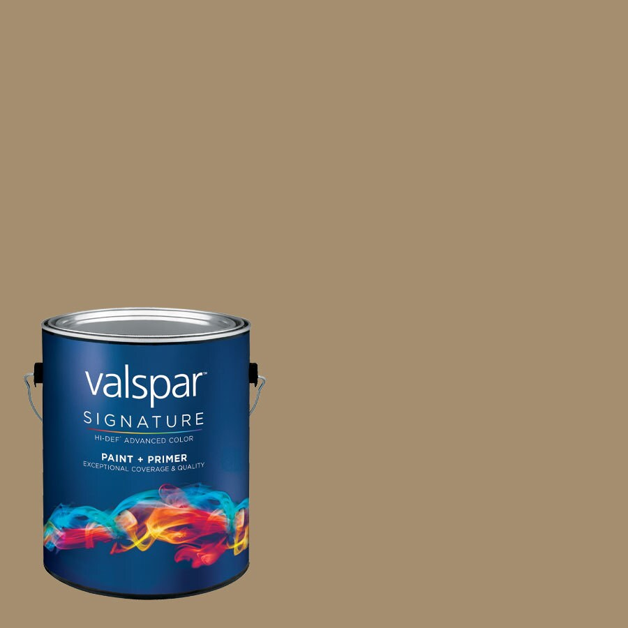 allen + roth Colors by Valspar Gallon Size Container Interior Matte Pre-Tinted Mink Latex-Base Paint and Primer in One (Actual Net Contents: 127.87-fl oz)