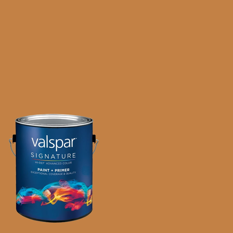 allen + roth Colors by Valspar Gallon Size Container Interior Eggshell Pre-Tinted Leather Clutch Latex-Base Paint and Primer in One (Actual Net Contents: 127.56-fl oz)