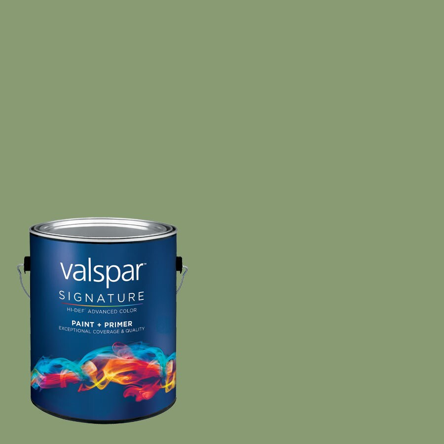 allen + roth Colors by Valspar Gallon Size Container Interior Eggshell Pre-Tinted Color Of Money Latex-Base Paint and Primer in One (Actual Net Contents: 127.54-fl oz)