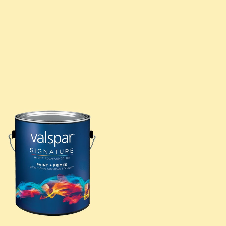 allen + roth Colors by Valspar Gallon Size Container Interior Satin Pre-Tinted Froth On Top Latex-Base Paint and Primer in One (Actual Net Contents: 127.47-fl oz)
