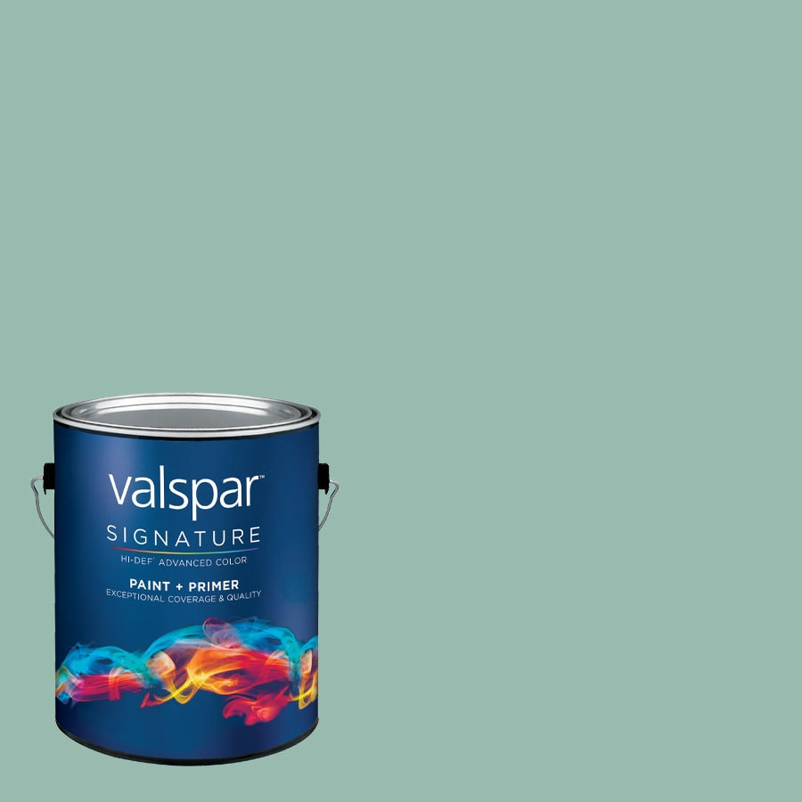 allen + roth Colors by Valspar 1-Gallon Interior Semi-Gloss Evening Stroll Latex-Base Paint and Primer in One