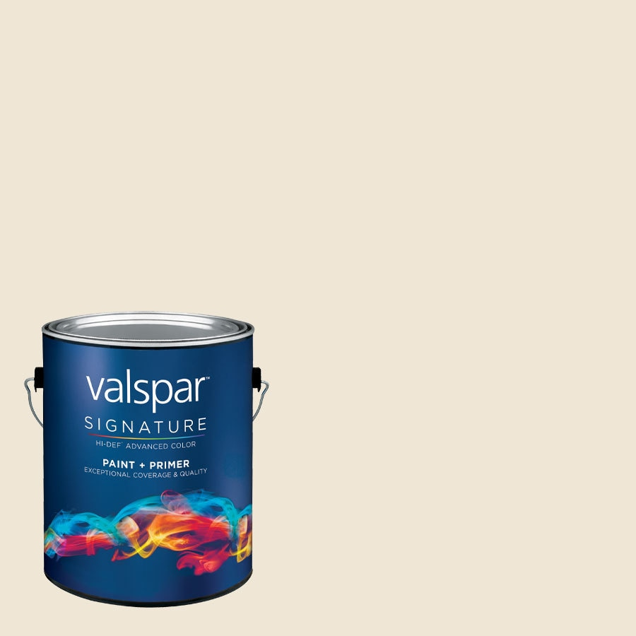 allen + roth Colors by Valspar Gallon Size Container Interior Semi-Gloss Pre-Tinted Upscale Latex-Base Paint and Primer in One (Actual Net Contents: 127.28-fl oz)