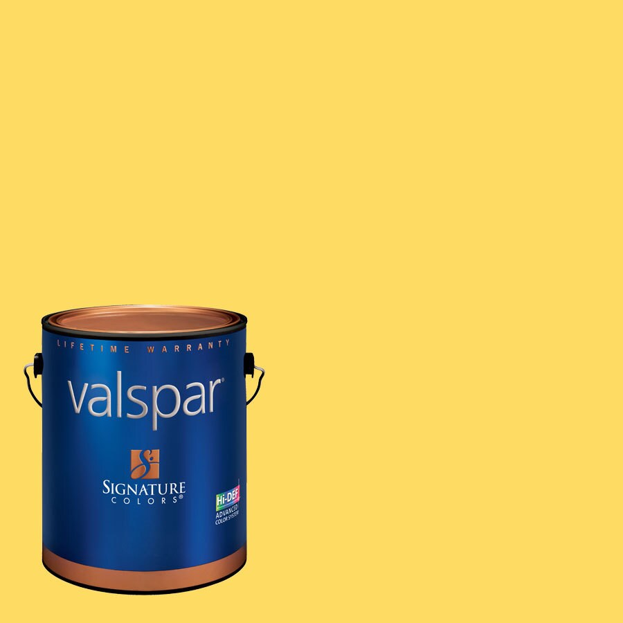 Valspar 1-Gallon Interior Eggshell Dreamy Caramel Latex-Base Paint and Primer in One