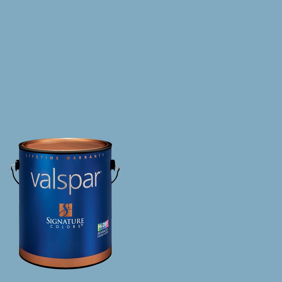 Valspar 1-Gallon Interior Satin Soft Skies Latex-Base Paint and Primer in One