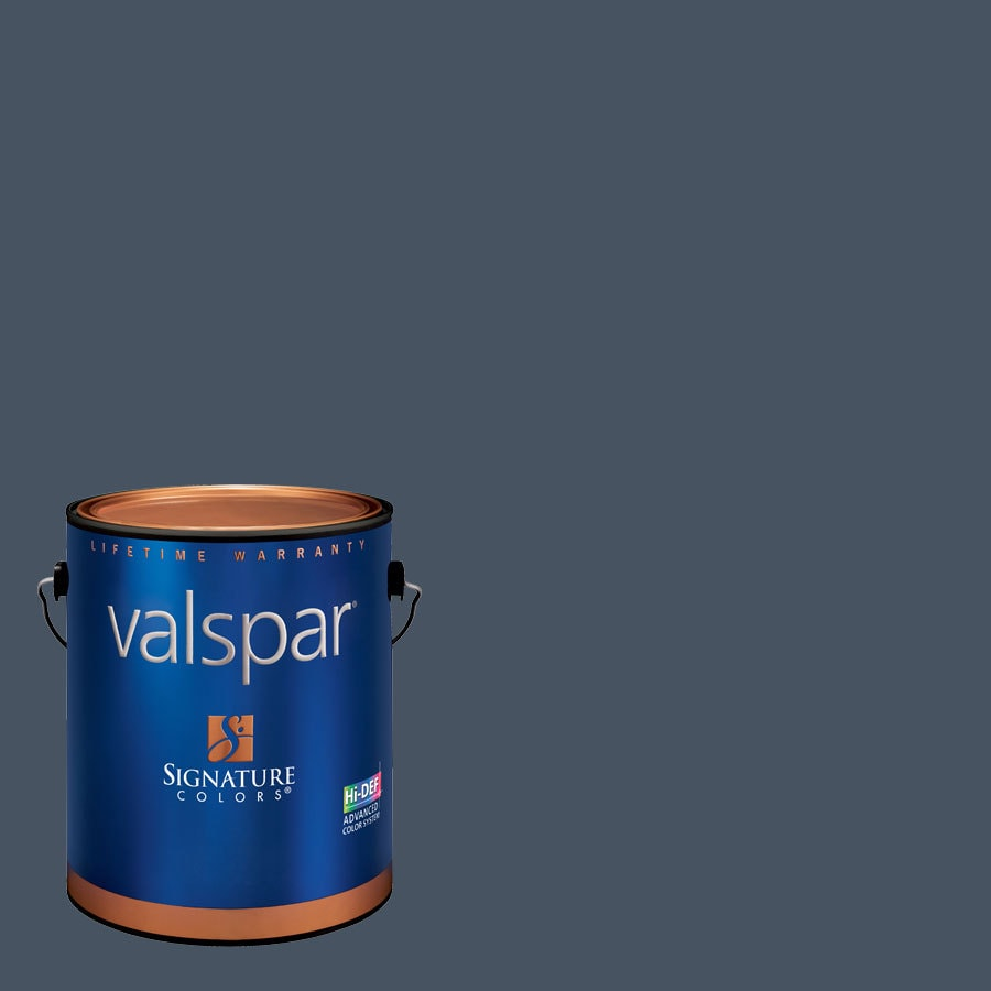 Valspar Indigo Streamer Satin Latex Interior Paint and Primer in One (Actual Net Contents: 128.21-fl oz)