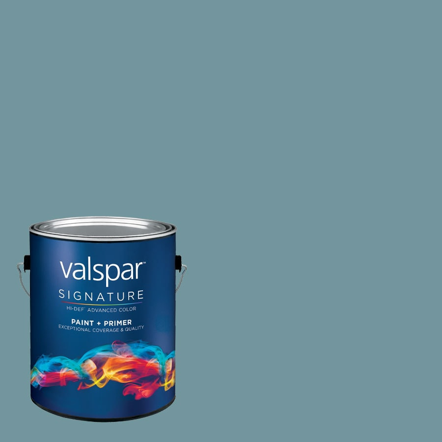 Valspar Flood Tide Eggshell Latex Interior Paint and Primer in One (Actual Net Contents: 128.25-fl oz)