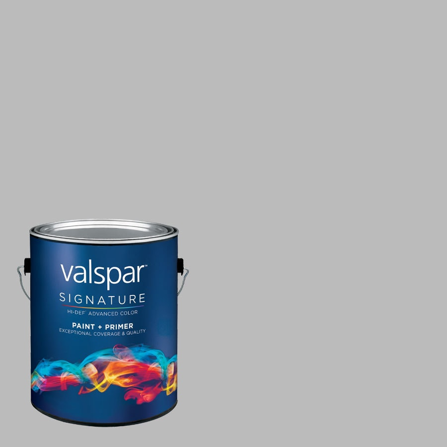 Valspar Autumn Fog Satin Latex Interior Paint and Primer in One (Actual Net Contents: 125.28-fl oz)