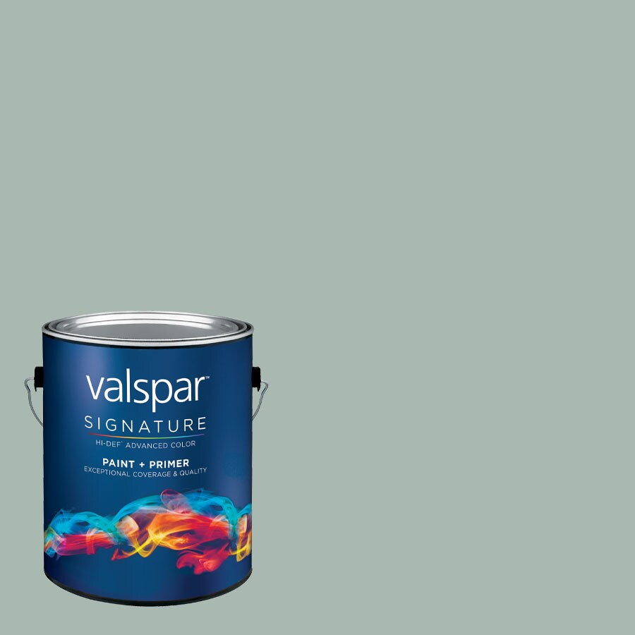 Valspar Tropical Bay Satin Latex Interior Paint and Primer in One (Actual Net Contents: 127.04-fl oz)