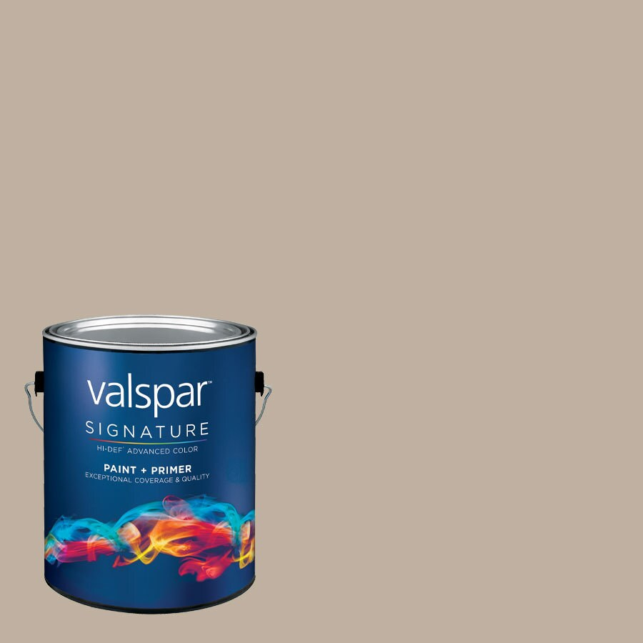 Valspar Montpelier Ashlar Gray Satin Latex Interior Paint and Primer in One (Actual Net Contents: 125.86-fl oz)