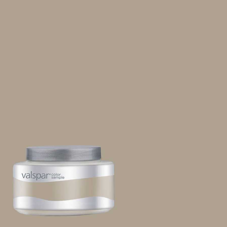 Valspar Pantone Oxford Tan Interior Satin Paint Sample (Actual Net Contents: 8.04-fl oz)