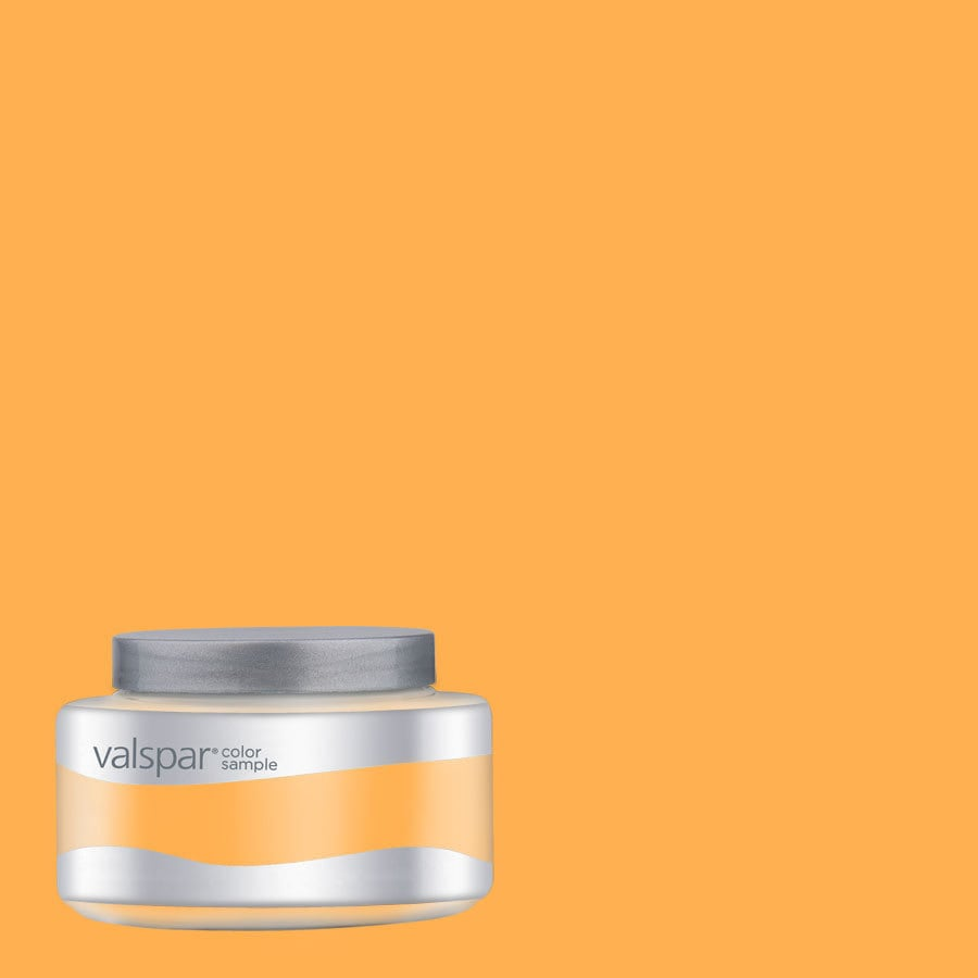 Valspar Pantone Citrus Interior Satin Paint Sample (Actual Net Contents: 8.01-fl oz)