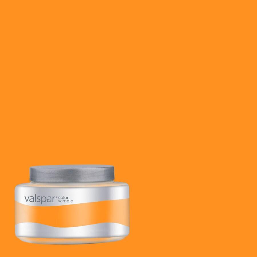 Valspar Pantone Zinnia Interior Satin Paint Sample (Actual Net Contents: 7.99-fl oz)
