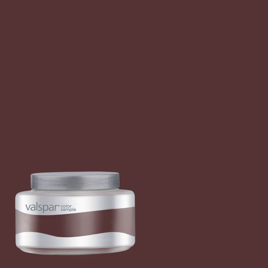 Valspar Pantone Rum Raisin Interior Satin Paint Sample (Actual Net Contents: 7.99-fl oz)