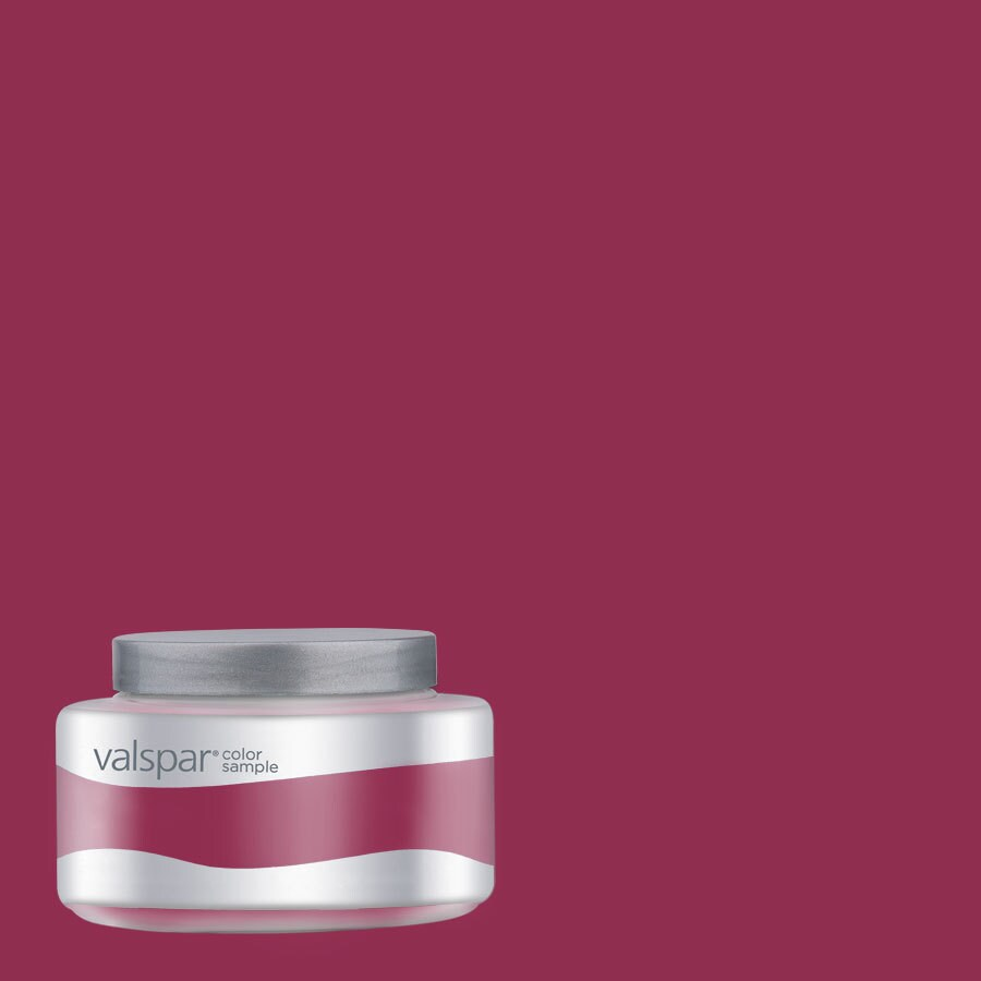 Valspar 8-oz Pantone Sangria Interior Satin Paint Sample