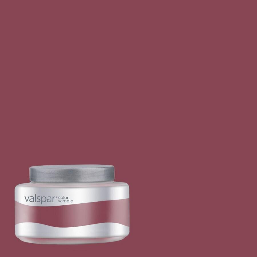 Valspar 8-oz Pantone Rumba Red Interior Satin Paint Sample