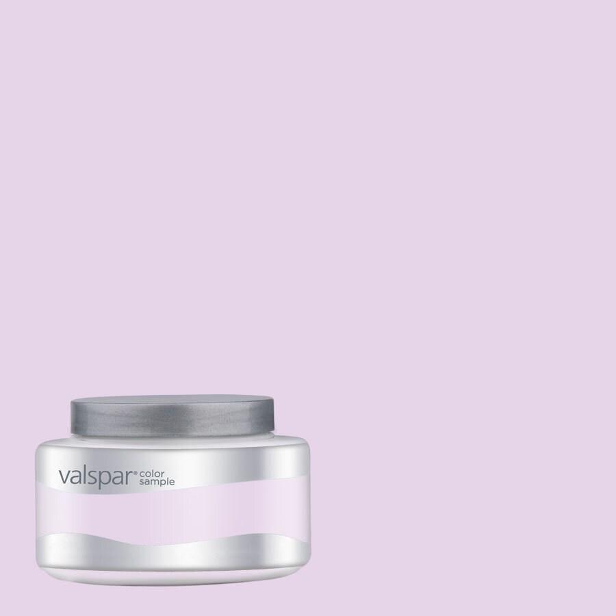Valspar Pantone Lilac Snow Interior Satin Paint Sample (Actual Net Contents: 8.03-fl oz)