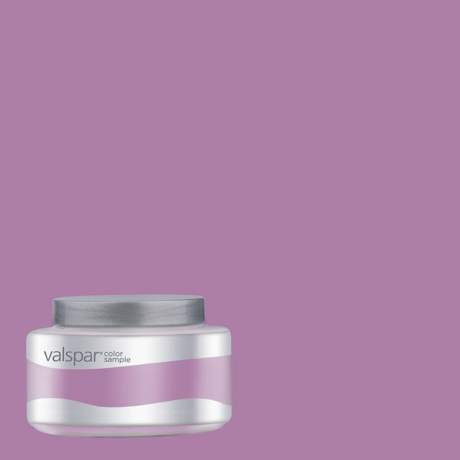 Valspar Pantone Mulberry Interior Satin Paint Sample (Actual Net Contents: 8.01-fl oz)