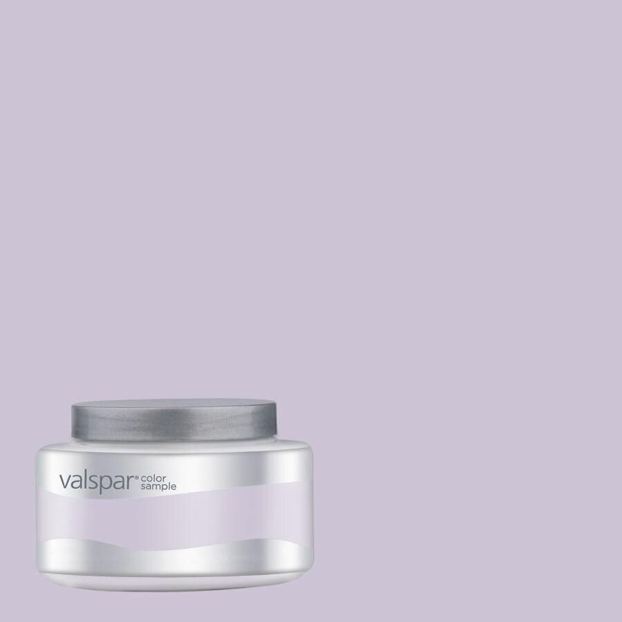 Valspar Pantone Lavender Fog Interior Satin Paint Sample (Actual Net Contents: 8.06-fl oz)