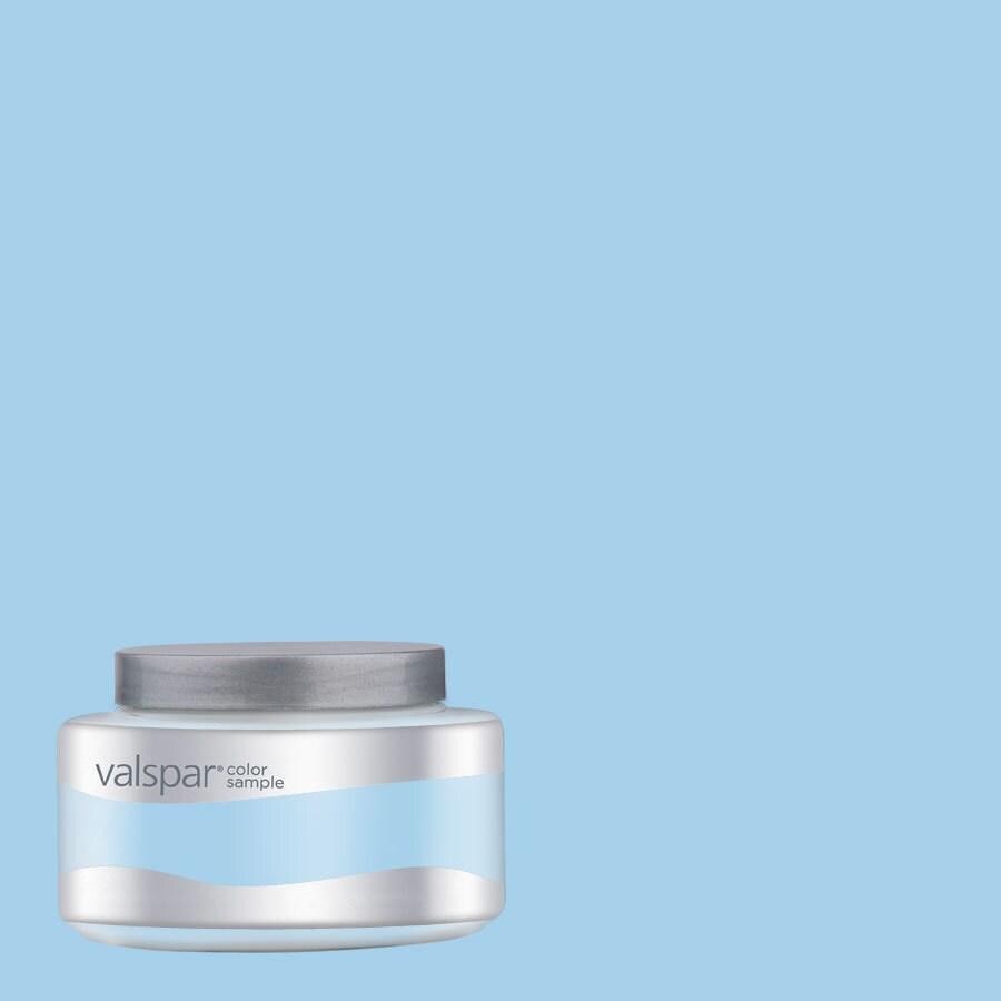 Valspar Pantone Cool Blue Interior Satin Paint Sample (Actual Net Contents: 8.06-fl oz)