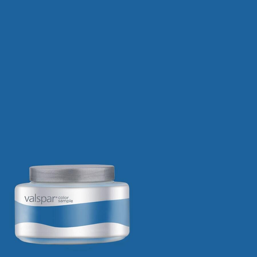 Valspar Pantone Princess Blue Interior Satin Paint Sample (Actual Net Contents: 7.99-fl oz)