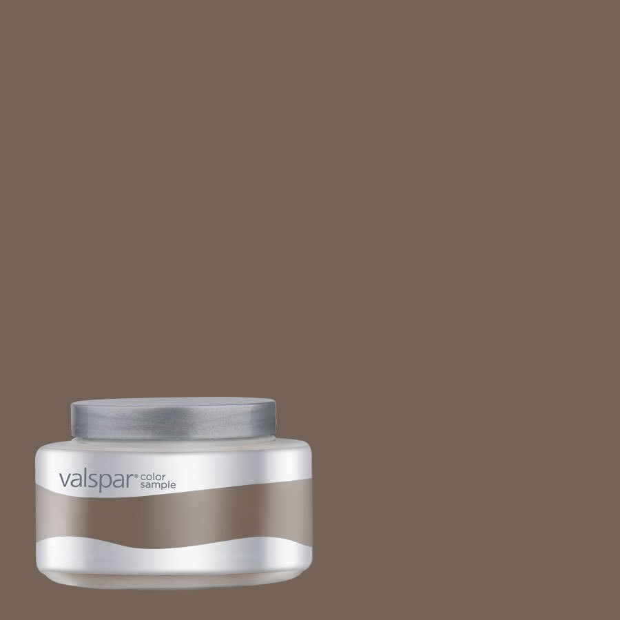 Valspar Sumatra Blend Interior Satin Paint Sample (Actual Net Contents: 7.99-fl oz)