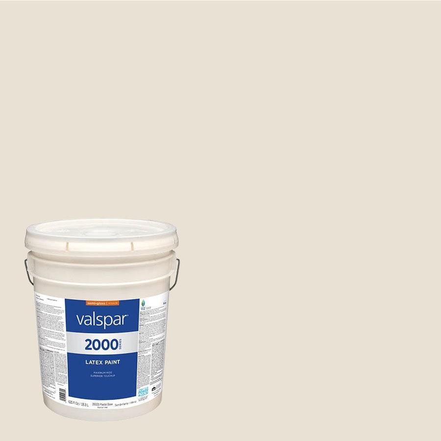 Shop Valspar Pro 2000 Appalachain Brown Eggshell Latex Interior Paint Actual Net Contents 620
