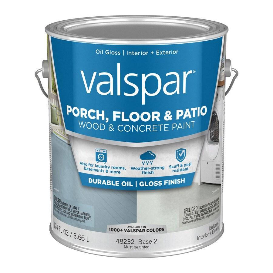 Valspar Porch and Floor Gloss Interior/Exterior Paint (Actual Net Contents: 124-fl oz)