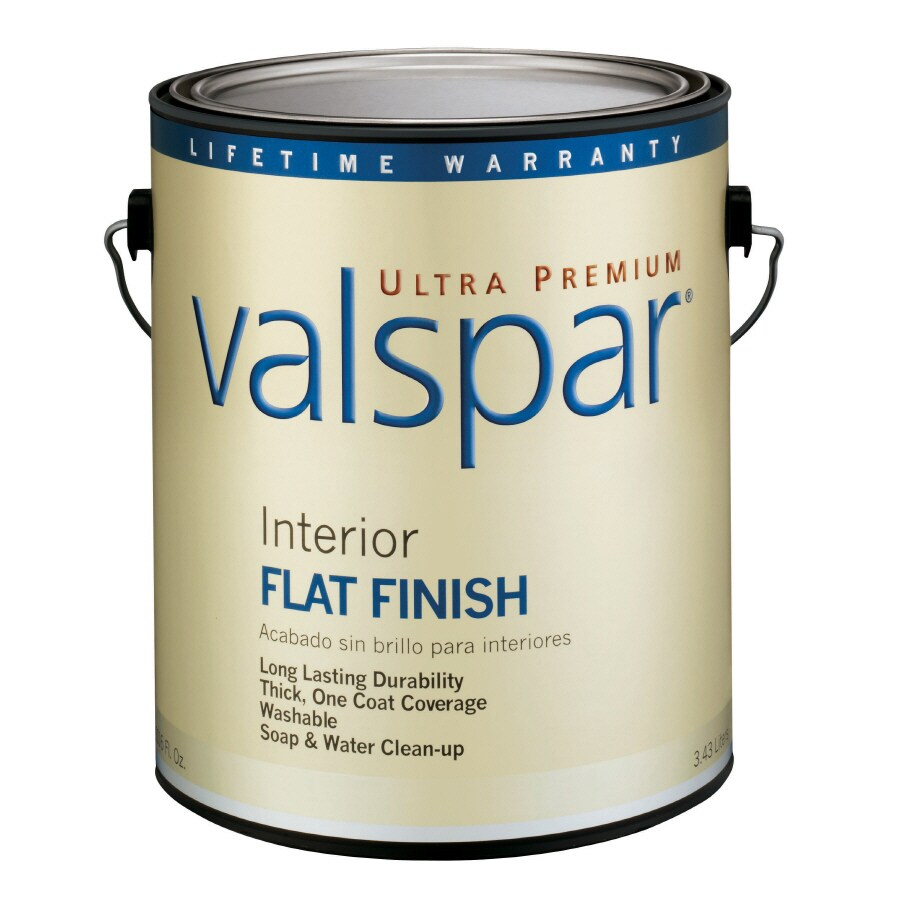 Valspar Ultra Premium 1-Gallon Interior Flat White Latex-Base Paint