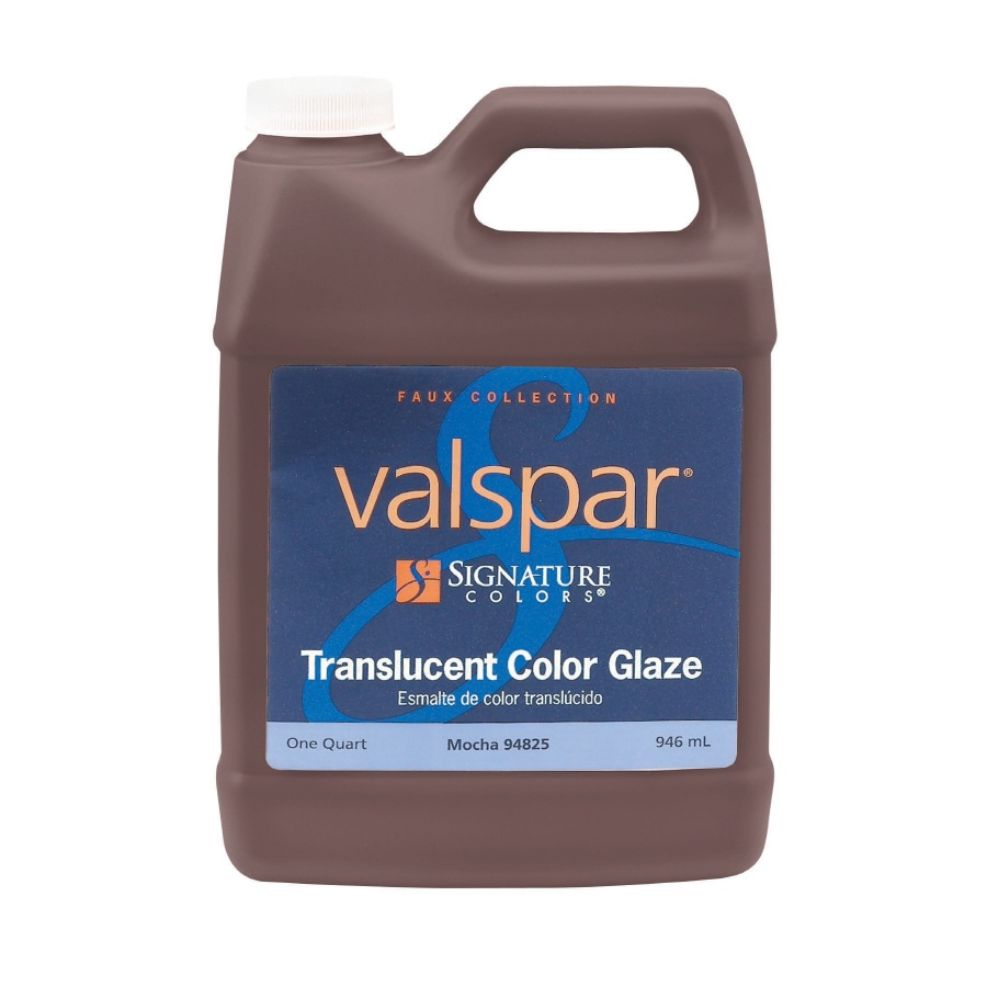 Valspar Signature Colors Quart Size Container Interior Eggshell Mocha Latex-Base Paint (Actual Net Contents: 32-fl oz)