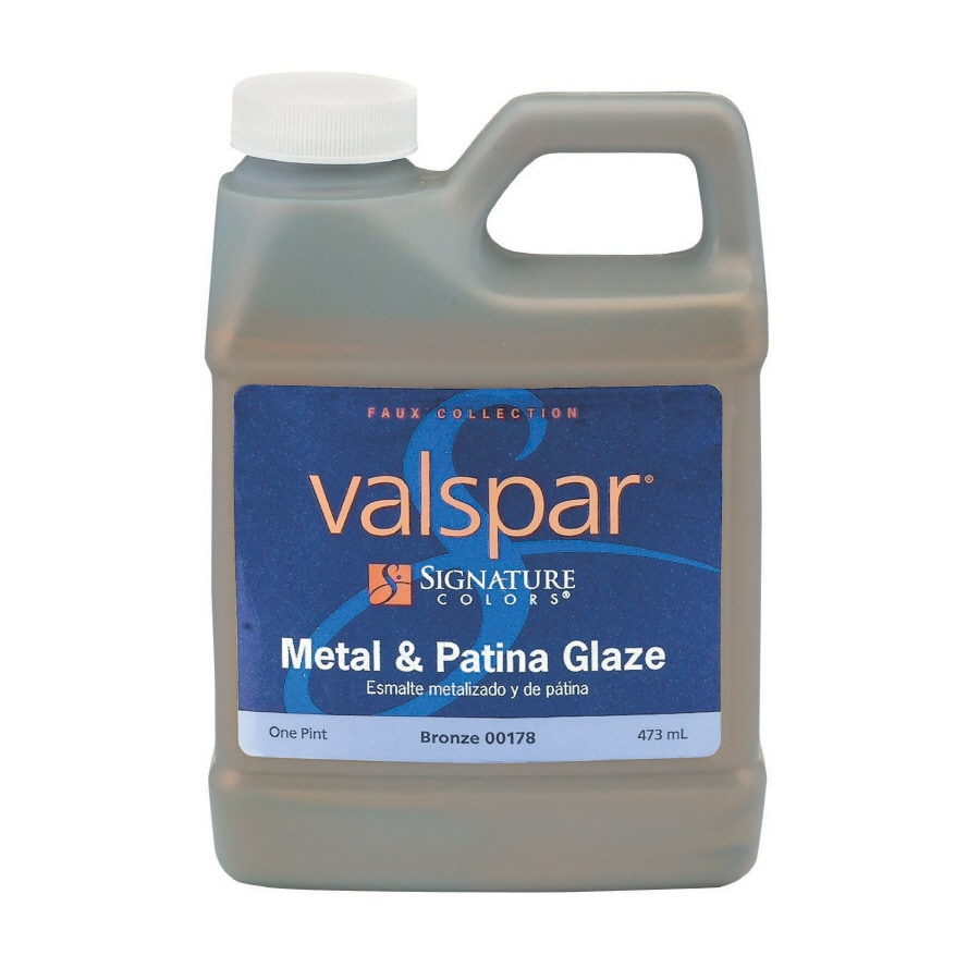 Valspar Signature Colors 16-fl oz Interior Satin Bronze Latex-Base Paint