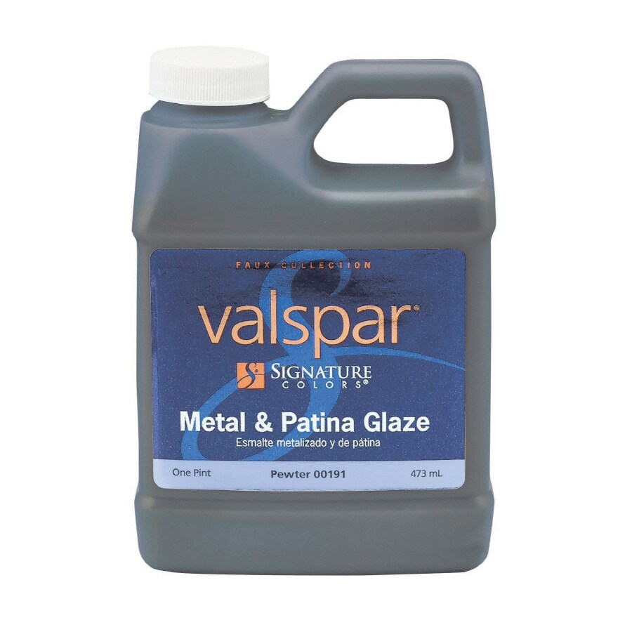 Valspar Signature Colors 16-fl oz Interior Satin Pewter Latex-Base Paint