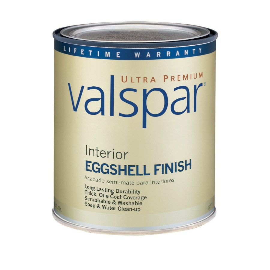 Valspar Ultra Premium 1-Quart Interior Eggshell Tintable Latex-Base Paint