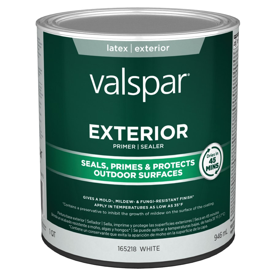 shop valspar exterior latex primer actual net contents