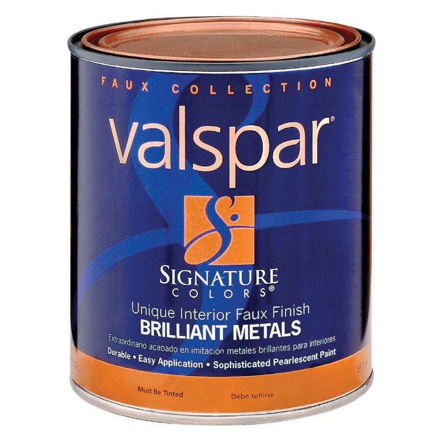 Valspar Signature Colors 1-Quart Interior Semi-Gloss Tintable Latex-Base Paint