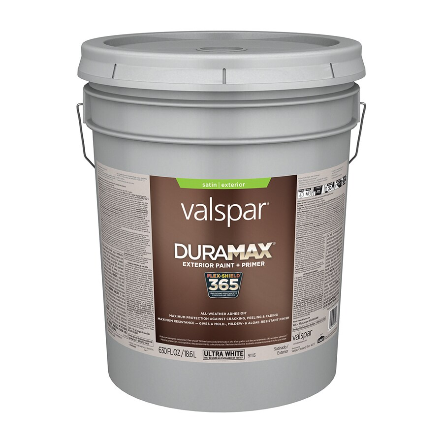 Valspar Duramax Satin Exterior Paint (Actual Net Contents: 630-fl oz)