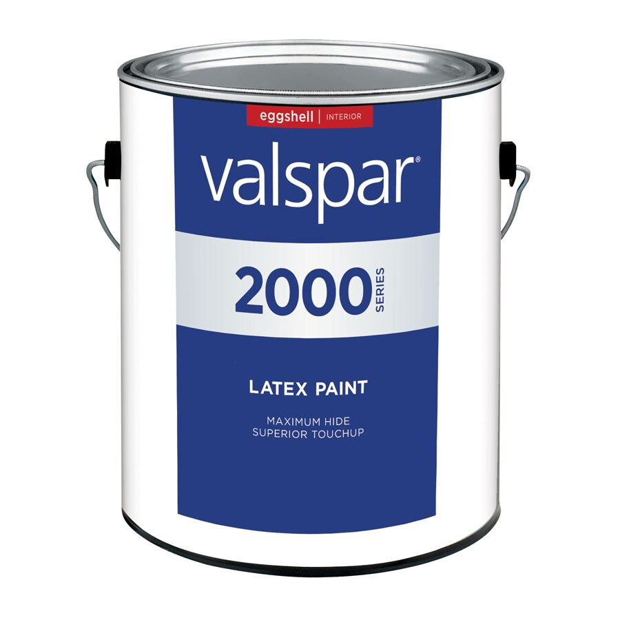 Valspar Contractor Finishes 2000 Pro 2000 Gallon Size Container Interior Eggshell Tintable White Latex-Base Paint (Actual Net Contents: 120-fl oz)