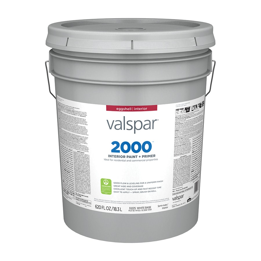 Valspar Contractor Finishes 2000 Ultra 2000 Eggshell Latex Interior Paint (Actual Net Contents: 620-fl oz)