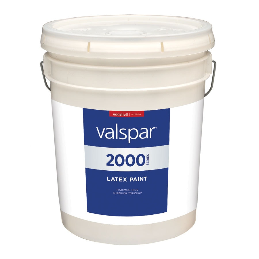 Valspar Contractor Finishes 2000 Pro 2000 5 Gallon Size Container Interior Eggshell Antique White Latex-Base Paint (Actual Net Contents: 640-fl oz)